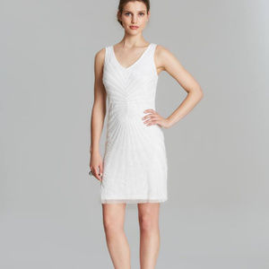 Adrianna Papell  IVORY SIZE 6 #339 NWT